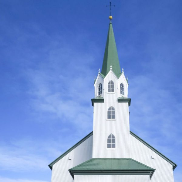Photo of Church and Sky in Iceland