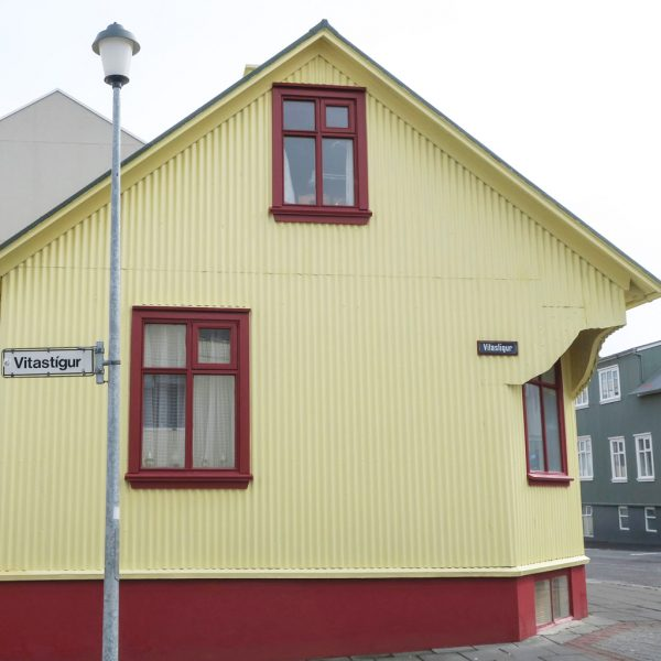 Yellow House in Iceland