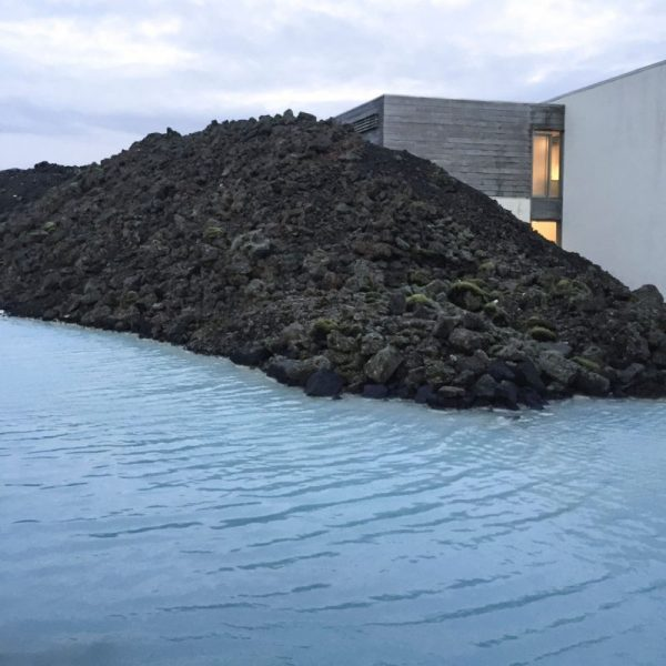 Photo of blue lagoon in Iceland