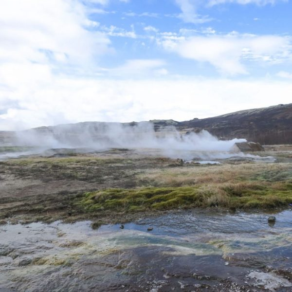 Photo of Geothermic Stream in Iceland
