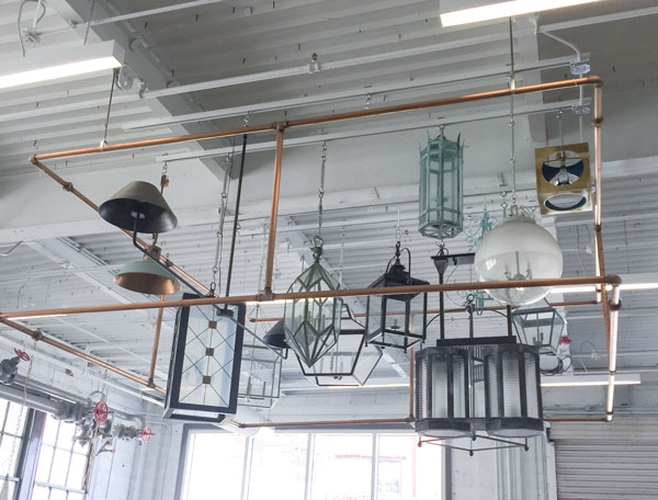 Urban Electric Lighting Installation
